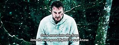 Grey Wolf Liam Neeson Quotes Into Fray
