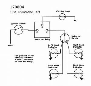 4 Way Flasher Wiring Diagram
