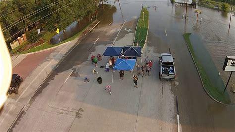pecan gove area richmond texas fm  hurrican harvey flooding youtube