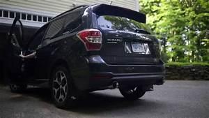 2015 Sj Forexter Xt Exhaust Nameless Muffler Delete   2015