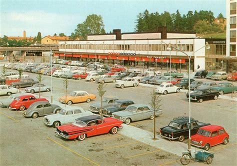 vintage swedish parking lot   volvo pvs   spot