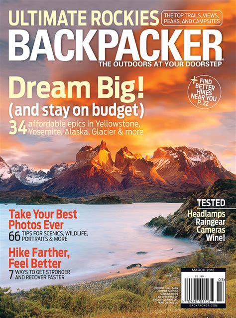 backpacker magazine     issue fathers day