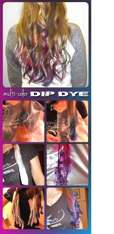 splat hair dye styles dye the ends of your hair with splat semi permanent hair