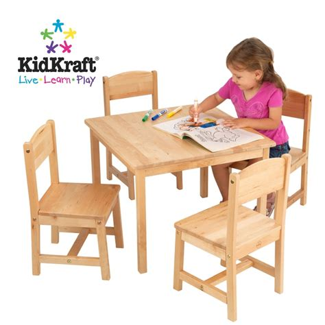 kidkraft farmhouse table and chairs in site