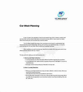 samples of business proposal letters in offering services With car wash business proposal letter
