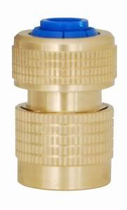 Raccord Tuyau Arrosage Laiton : raccord rapide en laiton pour tuyau ~ Melissatoandfro.com Idées de Décoration
