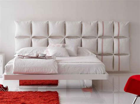 headboard cushion ideas pillow headboard ideas