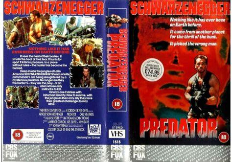 Predator (1987)on Cbs/fox (united Kingdom Betamax, Vhs