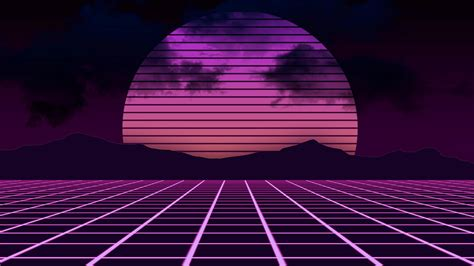 Retro Neon Wallpaper Pc by 76 Neon 80s Wallpapers On Wallpaperplay