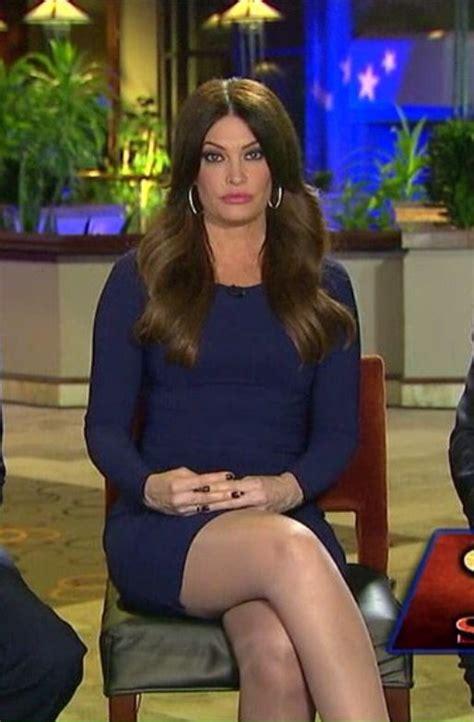 kimberly guilfoyle legs pantyhose fox hosiery stockings tv dress heels crossed