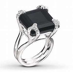 black onyx engagement rings wedding and bridal inspiration With black onyx wedding ring