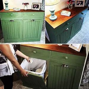 best 25 trash bins ideas on pinterest tilt trash can With best brand of paint for kitchen cabinets with recycle sticker for trash can