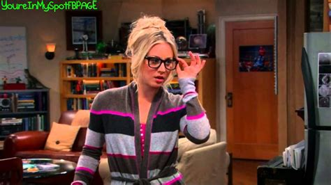 sexy penny  glasses  big bang theory youtube