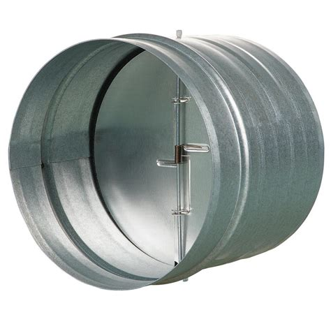 vents    galvanized  draft damper  rubber