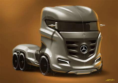 concept truck mercedes benz axor truck concept cars one love
