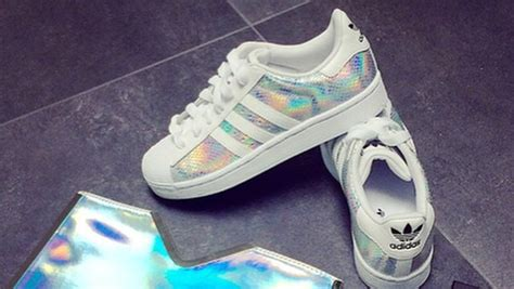 Holographic Adidas, Sneakers