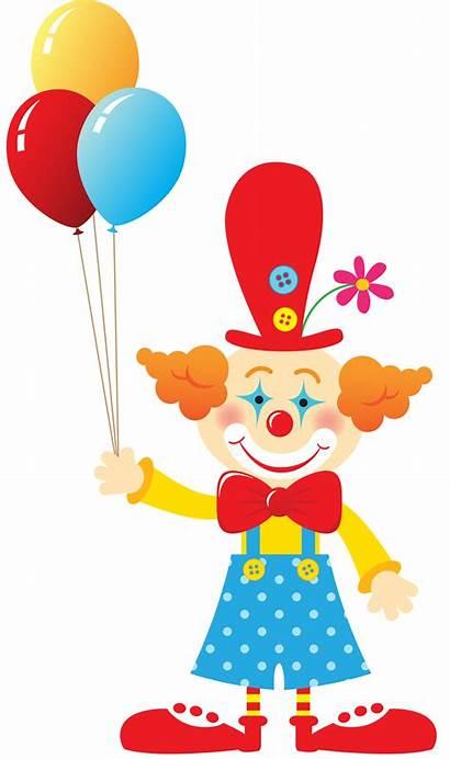 Clipart Clown Birthday Minus Clip Circus Theme