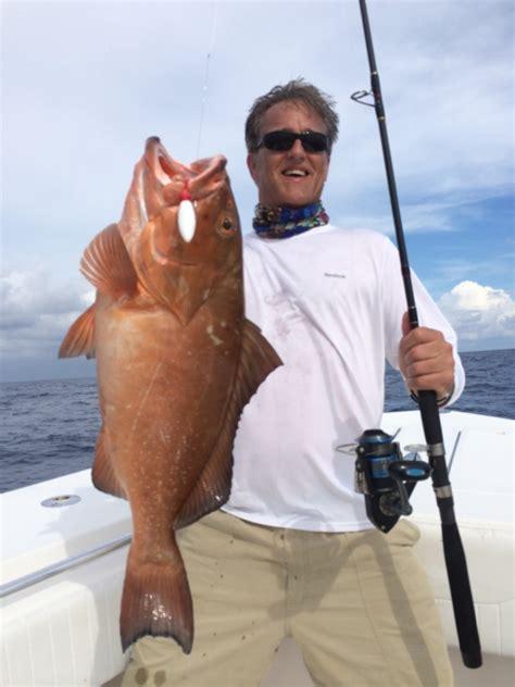 gulf mexico fishing grouper jigging popping charter west florida keys key delphfishing
