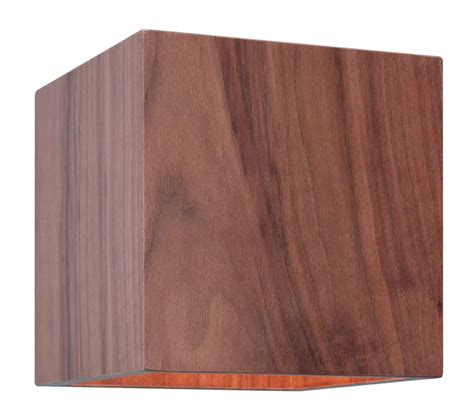 astro cremona interior wall light walnut finish 0399