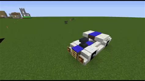 How To Make A Muscle Car In Minecraft Youtube