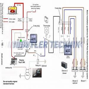 Excellent Webasto Water Heater Wiring Diagram Webasto Thermo Top C 300 Rv Camper Heating