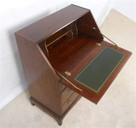 the bureau stag minstrel writing bureau desk sold