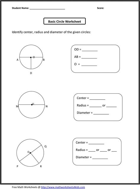grade geometry worksheets db excelcom