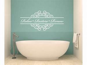 Wall Decal: Ideas for Bathroom Decals For Walls Bathroom