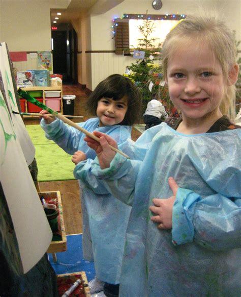 bright preschool educational childcare in calgary 878   painting edit