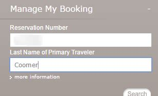 change  frequent flyer number   ba booking