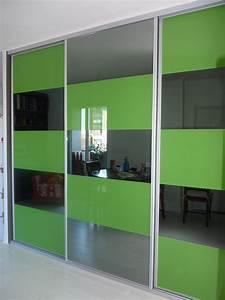 Porte Coulissante Placard : porte placard coulissante standard cool porte de ~ Premium-room.com Idées de Décoration