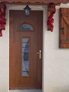 porte entree pvc renovation cobtsacom With porte d entrée pvc avec bois hydrofuge pour salle de bain