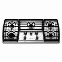 "gas cooktop 36 inch KitchenAid - KGCK366VSS - 36"" Gas Cooktop 
