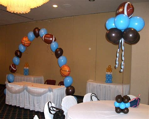 sports theme  baby shower sports themed baby shower