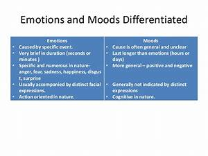 Chapter 4 ob emotions & moods
