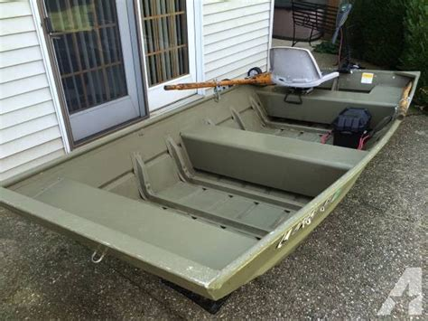 10ft Jon Boat Setup by Lowe 1236 Jon Boat Motor Reduced For Sale In