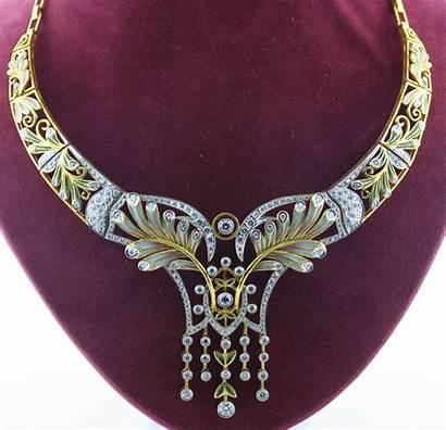 Nouveau Jewelry Jewellery Masriera Deco Estate Necklaces