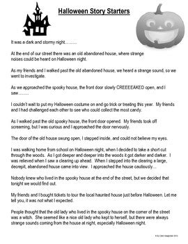 haunted house writing project  haunted house template