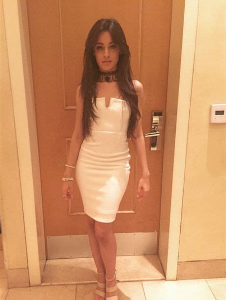 tight tiny camila cabello is a goddess in a tiny tight white dress at grammys after party with austin
