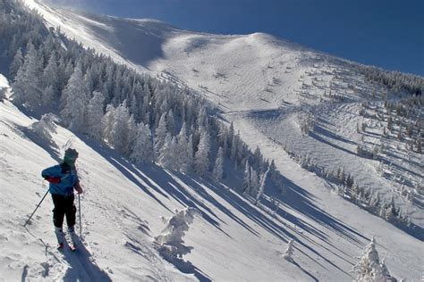 alpine skiing arizona snowbowl flagstaff arizona usa