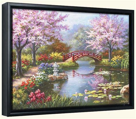 Garden Canvas Art Prints  Garden Art  Framed Or Unframed