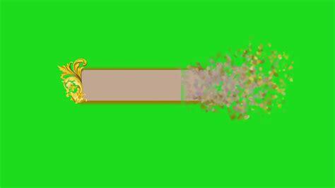 green screen  plate  youtube