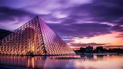 Louvre France Paris Travel Tourism Architecture Resolution