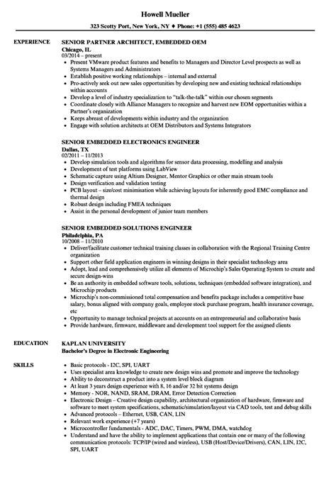 embedded resume samples velvet jobs