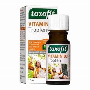 Vitamin D3 Berechnen : taxofit vitamin d3 tropfen f r s immunsystem ~ Themetempest.com Abrechnung