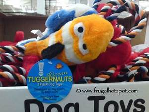 costco sale thinkdog ocean tuggernauts 3 pack dog toys With think dog toys costco