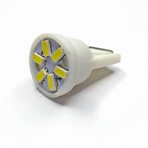 Ampoule Led Voiture : ampoule led t10 w5w 6 leds 3014 led effect ~ Medecine-chirurgie-esthetiques.com Avis de Voitures