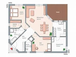 Grundriss Bungalow 100 Qm : musterhaus bungalow grundriss ~ Markanthonyermac.com Haus und Dekorationen