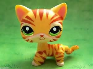 pet shop cats littlest pet shop cat tiger cat 1451