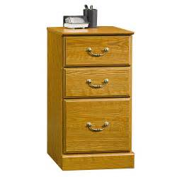sauder 3 drawer pedestal file cabinet carolina oak
